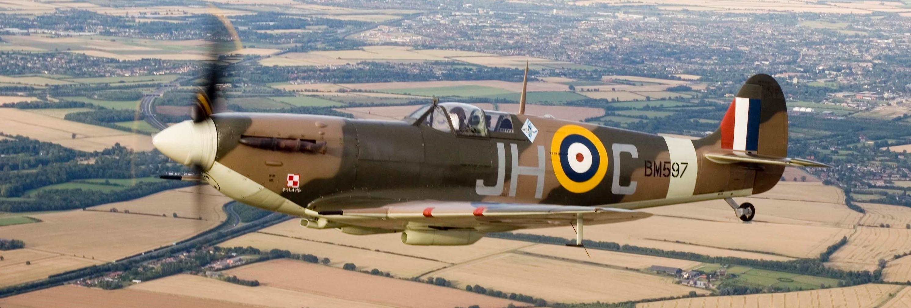 Spitfire 85th anniversary of first flight