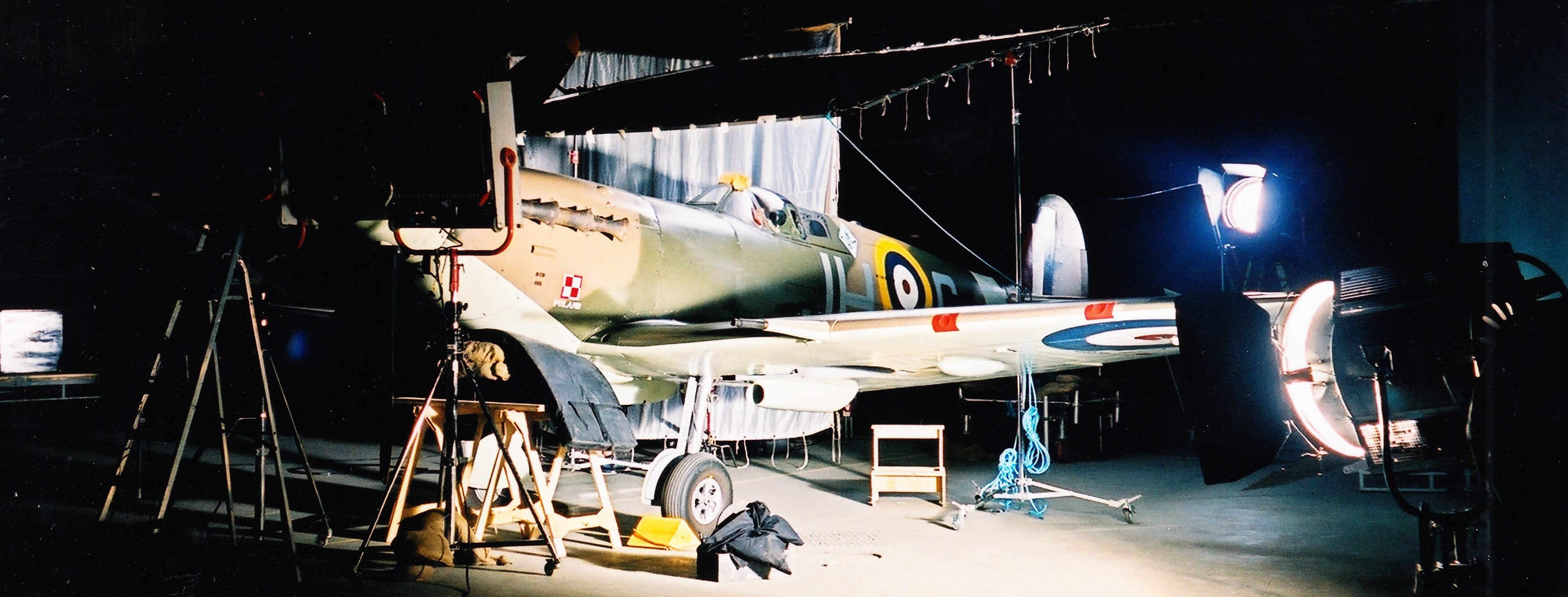 Historic aircraft in Film and TV work