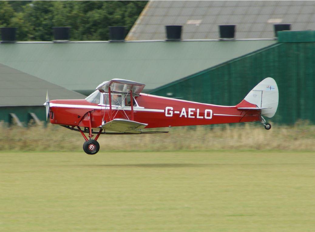 The De Havilland Hornet Moth Historic Aircraft Association